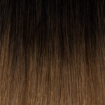 Ombre #01b Natural Black #6 Hazelnut Brown